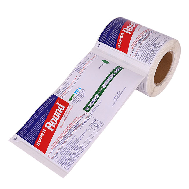 Custom Multi-layer Adhesive Labels in Roll