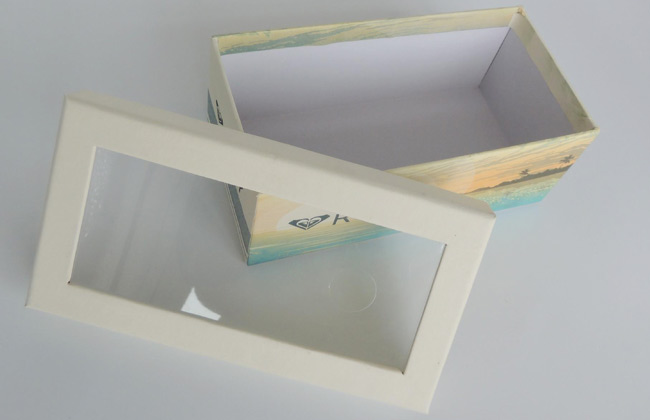 rigid window packaging boxes